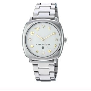 Marc Jacobs Mandy stainless steel watch NEW